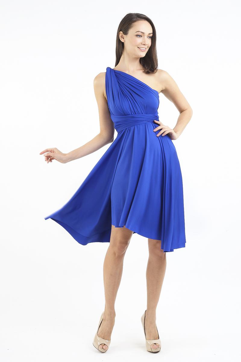 e32c9be217f INTOXIQUETTE MULTIWAY DRESS IN COBALT BLUE