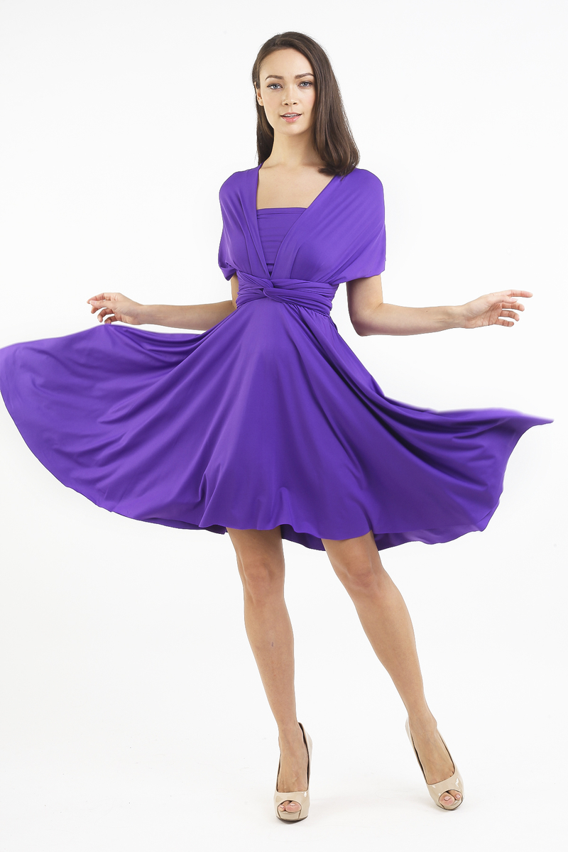 c6076bfb82 INTOXIQUETTE MULTIWAY DRESS IN ROYAL PURPLE