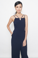 double straps maxi in navy