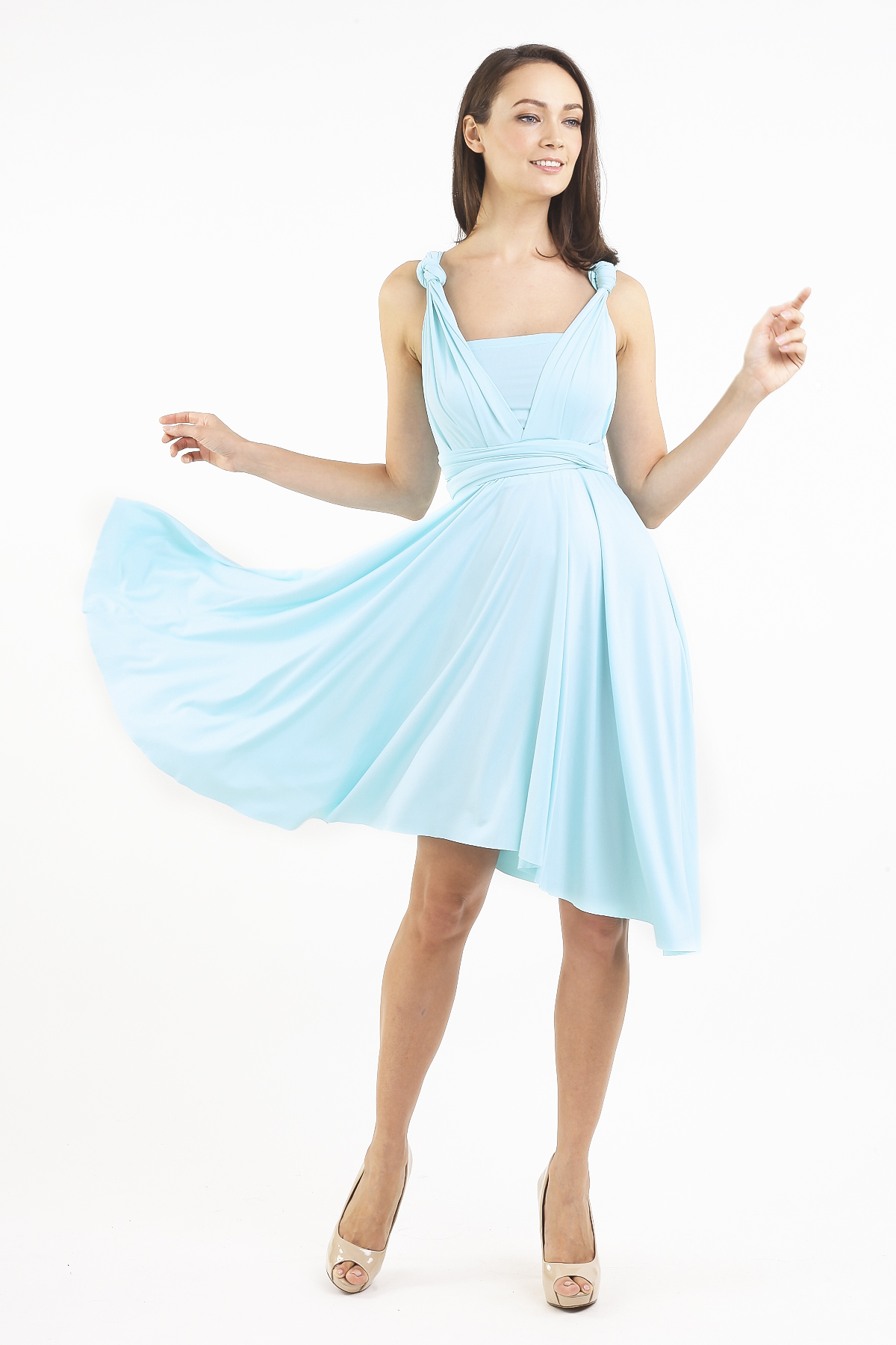 7008f52dd0 INTOXIQUETTE MULTIWAY DRESS IN TIFFANY BLUE