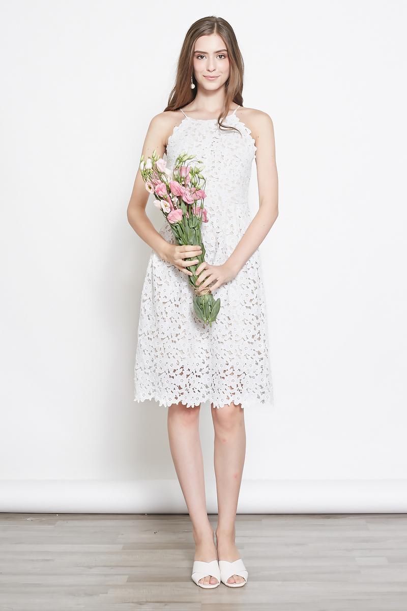 d4b862ee5b4 *INTQ LABEL* DANIQUE CROCHET LACE DRESS IN WHITE | Intoxiquette
