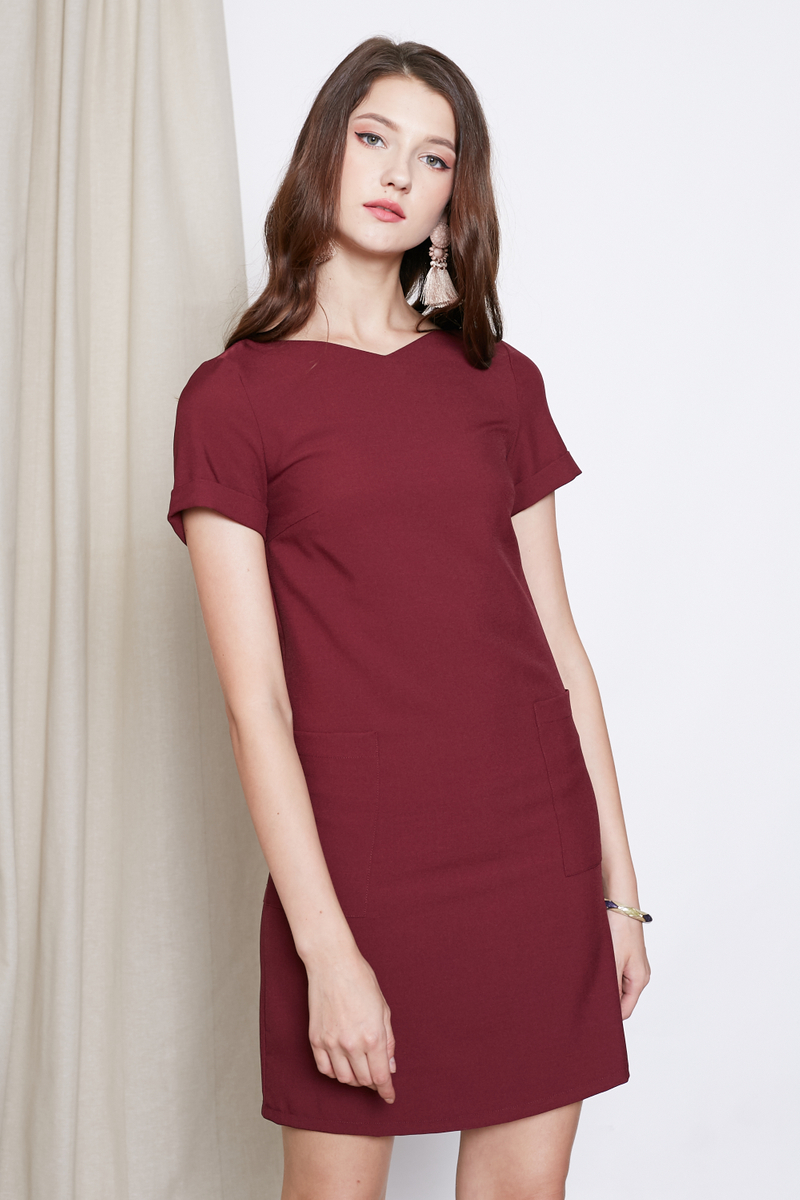 POCKET TEE DRESS